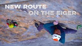 Sean Villanueva, Nina Caprez and Roger Schäli Establish The Hardest Climb On The Eiger North Face