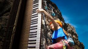 Why Rock Climbing Is Similar To Playing A Piano?