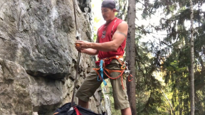 How To Rig A Solo Top Rope For Climbing