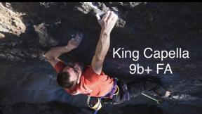 King Capella 9b+ FA - Will Bosi