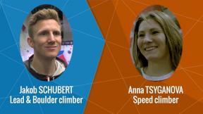 Olympic Climbing - Interview: Sean McColl & Jakob Schubert & Anna Tsyganova