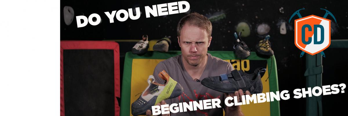 Should You Buy A Pair Of Beginners Climbing Shoes?
