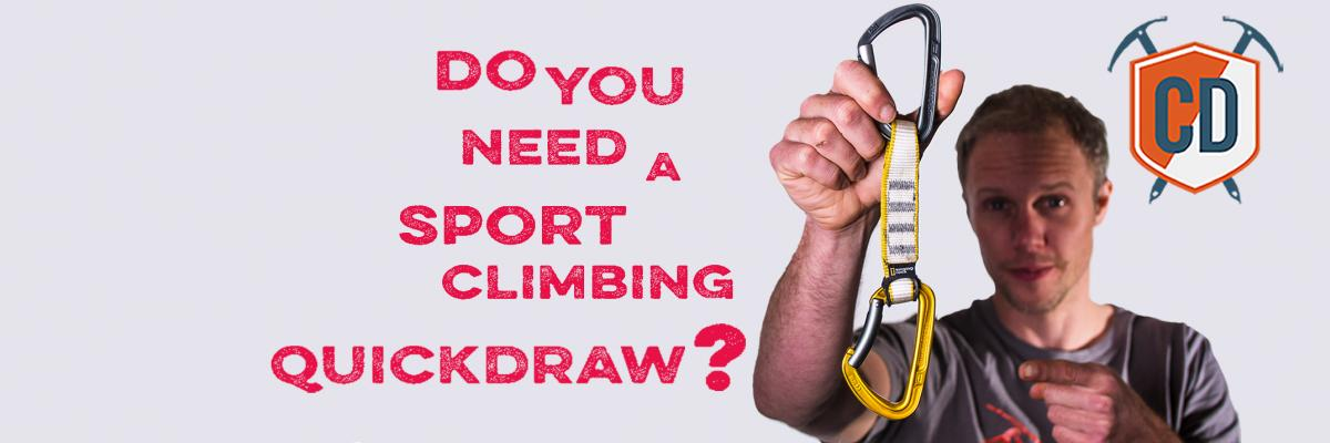 4 Reasons Why YOU Need Sport Climbing Quickdraws