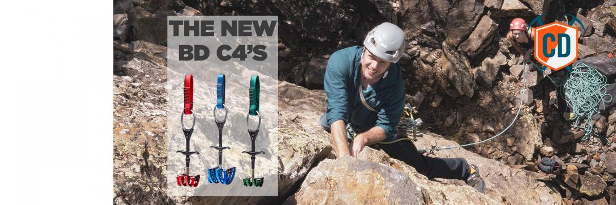 Crack Climbing In Chamonix: New BD C4 Cams