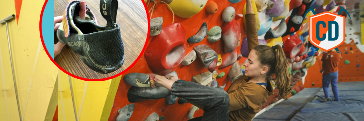 How A Modified Shoe Saved The Career Of A Young Pro Climber