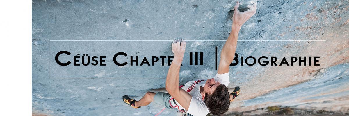 Céüse Chapter 3 | Biographie 9a+
