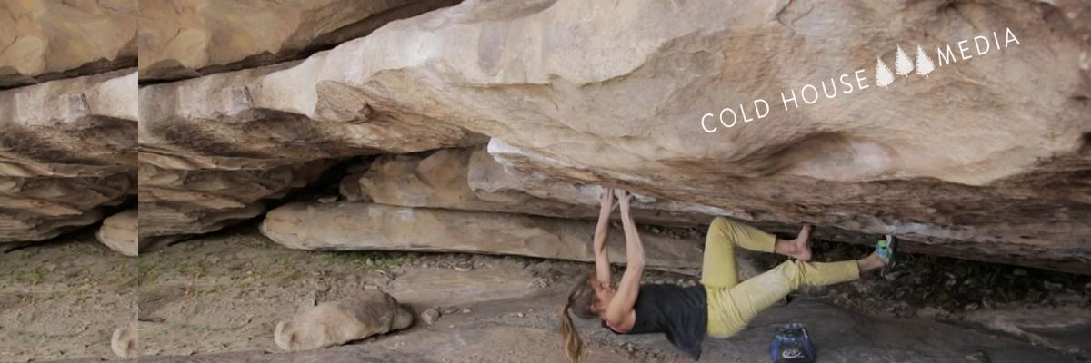 Char Climbs V9 With One Shoe In Hueco TX || Vlog 042