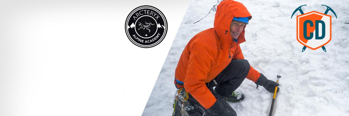 How To Build An Ice Axe Anchor For Crevasse Rescue