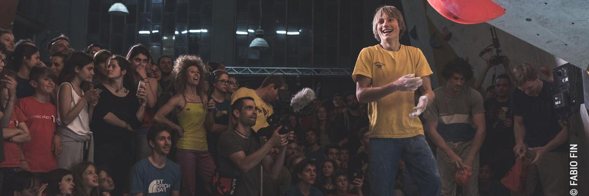 Alex Megos, Nalle Hukkataival, Stefano Ghisolfi And More At the 'Best Trick' Competition In Turin
