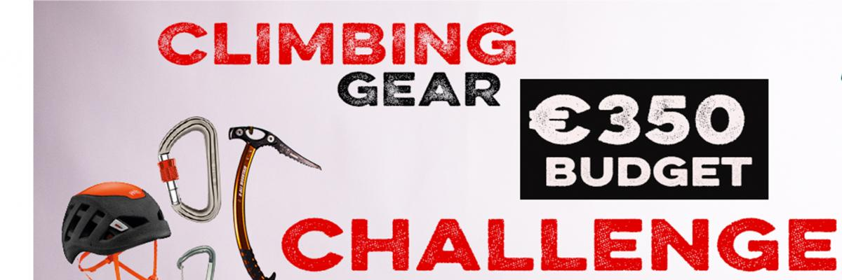 Christmas Climbing Gear €350 Budget Challenge