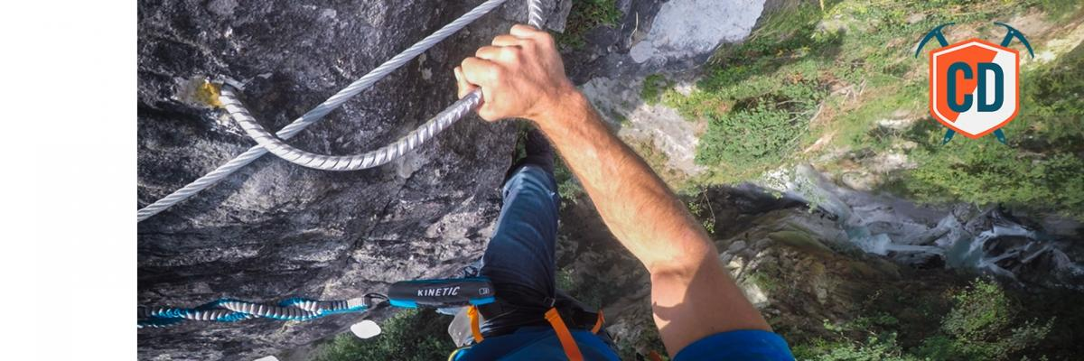 Chamonix's Most EXTREME Via Ferrata