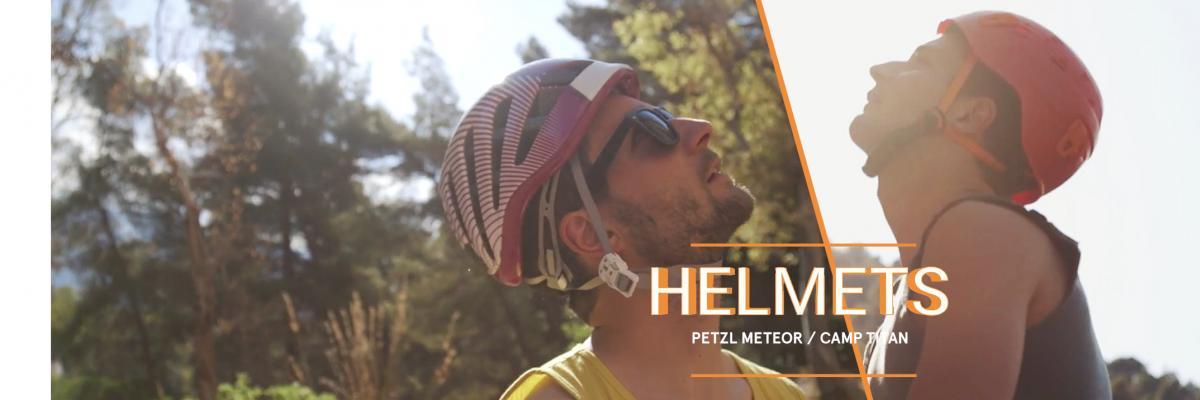 Helmet Review: Petzl Meteor Vs Camp Titan