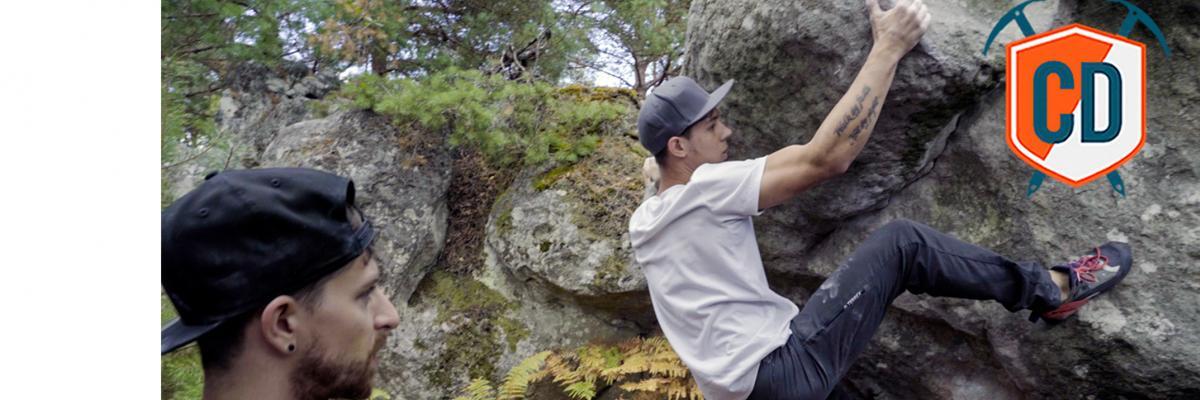 Serious Lock Off Strength: Climbing Blind