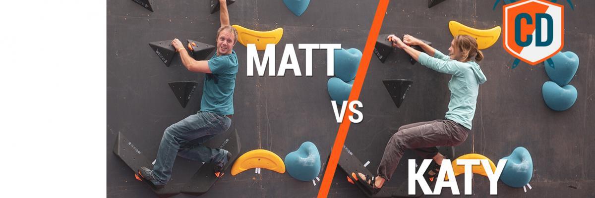 Matt Boulder Battles Katy Whittaker