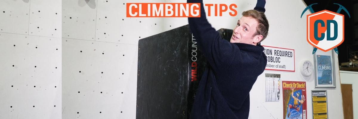 Climbing Tips: The Art Of The Leg Jam | Ep.1110