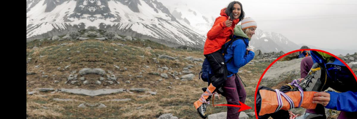 Injured Ankle Alpine Rescue